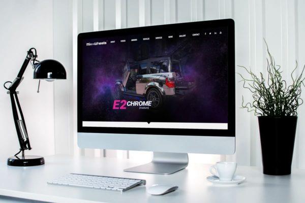 MixOnWheels - Web Design