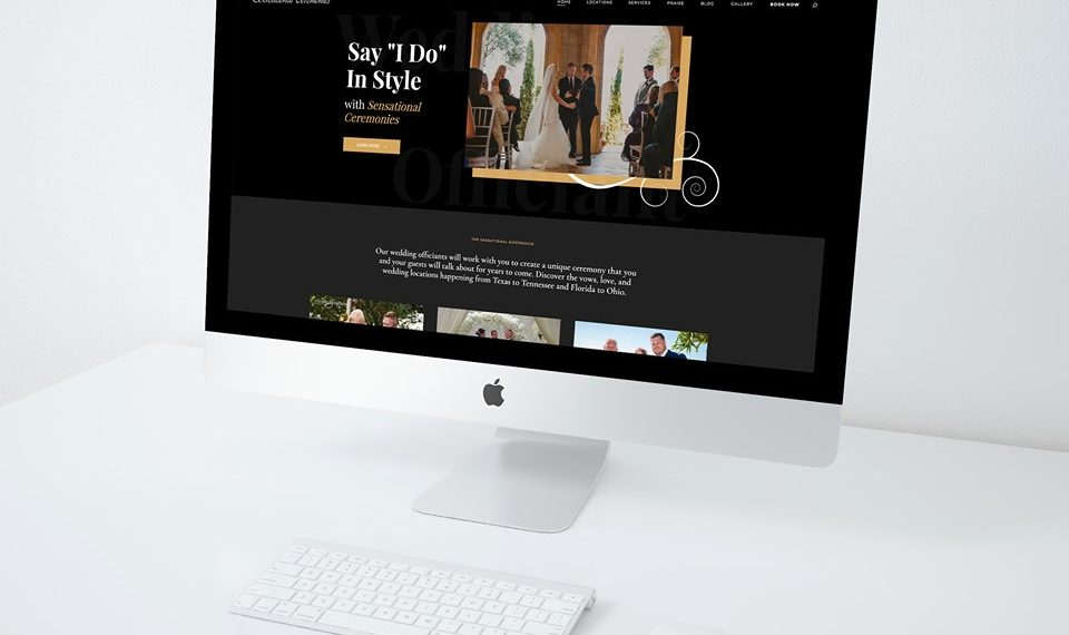 New Website - Sensational Ceremonies - Beatcreative