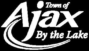 Town of Ajax Logo White
