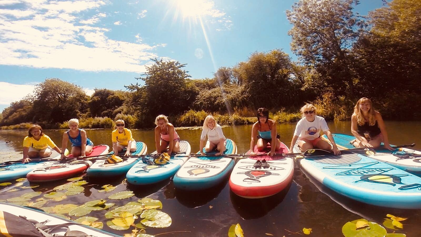 Chichester West Sussex paddle boarding lessons