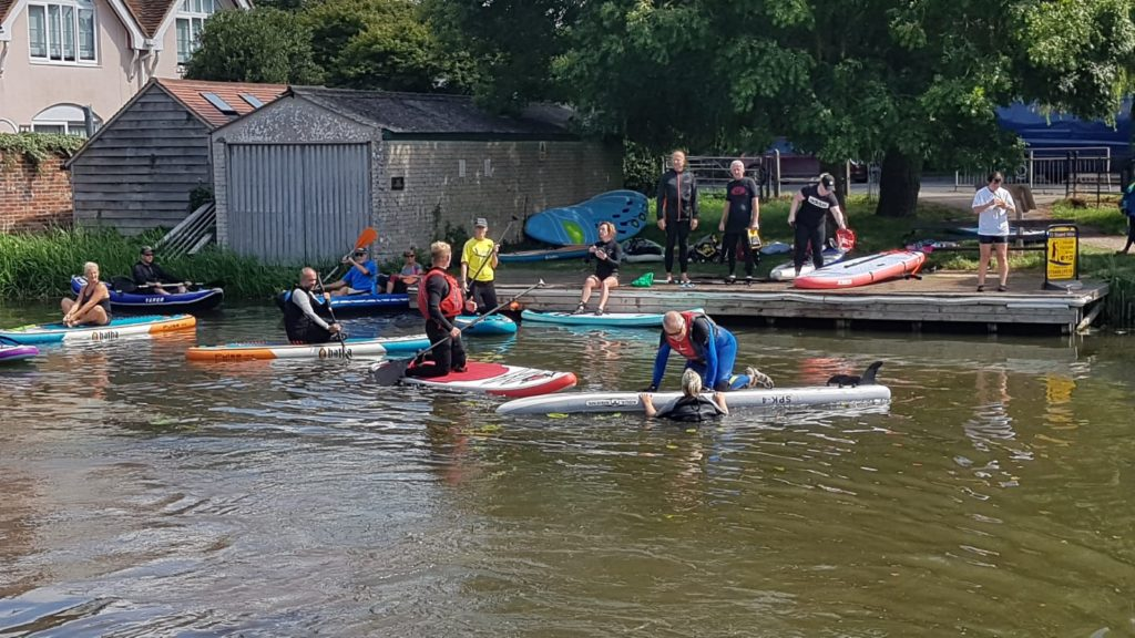 Chichester Sup Club Safety Session