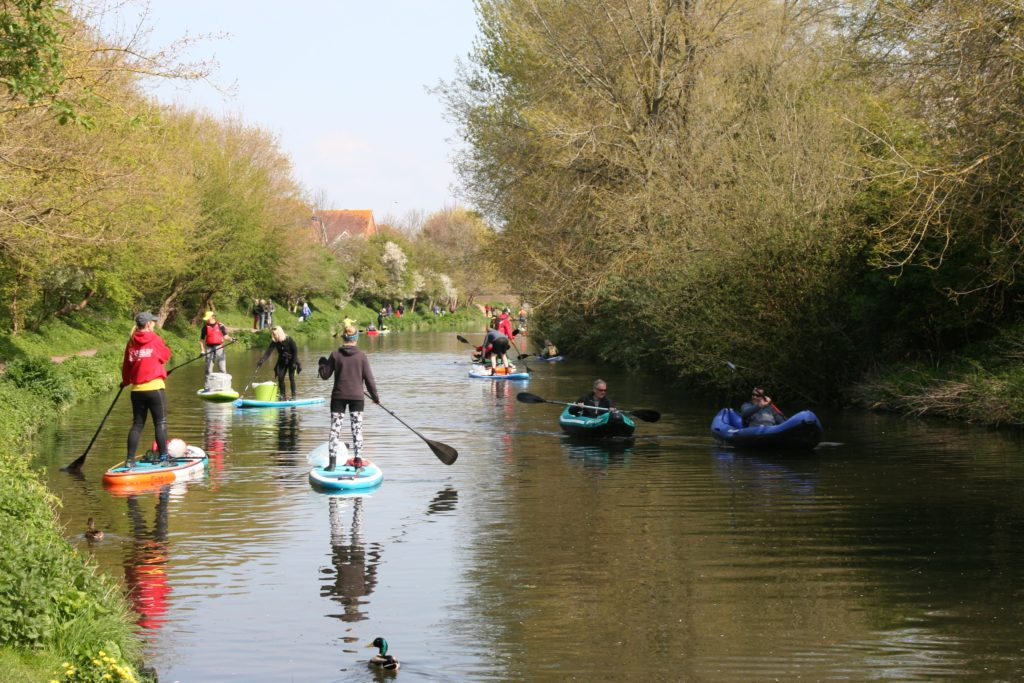 Chichester Canal Clean