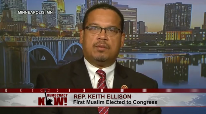 Rep. Ellison For DNC Chair
