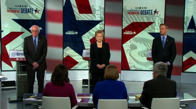 CBS Democrat Debate, 11/14/2015