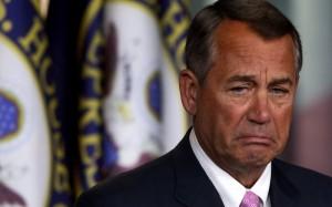 Speaker of the House John Boehner (R)
