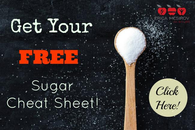 sugar cheat sheet