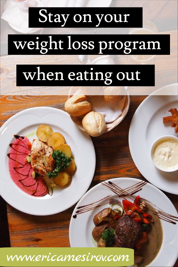 (successful weight loss/ eating at restaurant while on diet/ don't give into diet temptation/ pitfalls of dieting/ weight loss tricks/ avoid restaurant bread basket/ diet friendly restaurants/ don't break diet/ increase willpower/ stop feeling hungry)