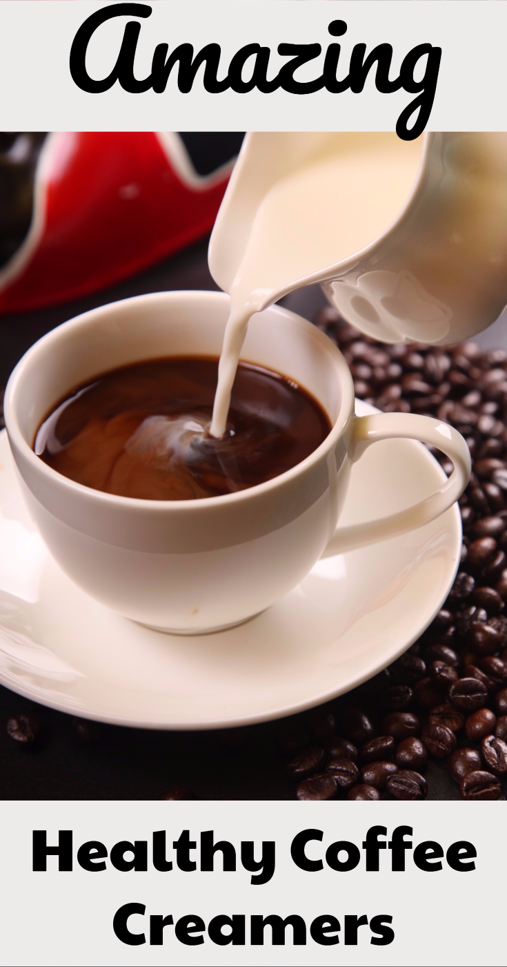 Healthy coffee creamer option. My 6 top picks. Includes option for Paleo and Whole30 diet