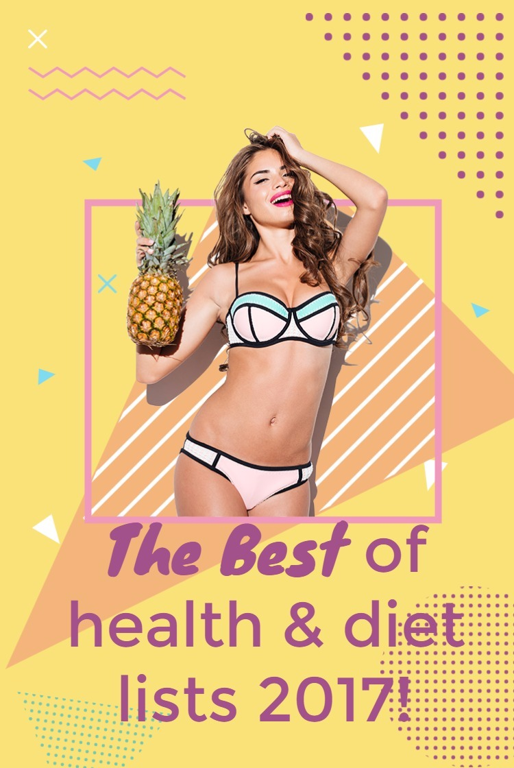 The best of health and diet lists 2017