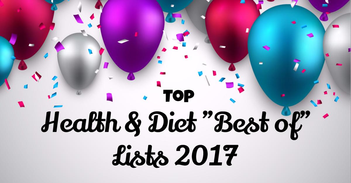 Top health & diet best of lists 2017