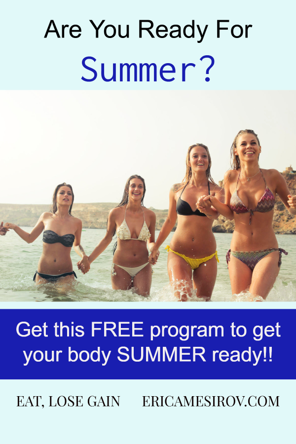 Get your body summer ready (swimsuit body/ self-conscious about body/ feel fat in swimsuit/ lose weight for summer/ feel good in my body/ tone up/ comfortable in your skin/ look fat in a swimsuit/ afraid to wear a bikini/ diet tips for summer/ summer weight loss/ get healthy for summer/ beach ready quickly)