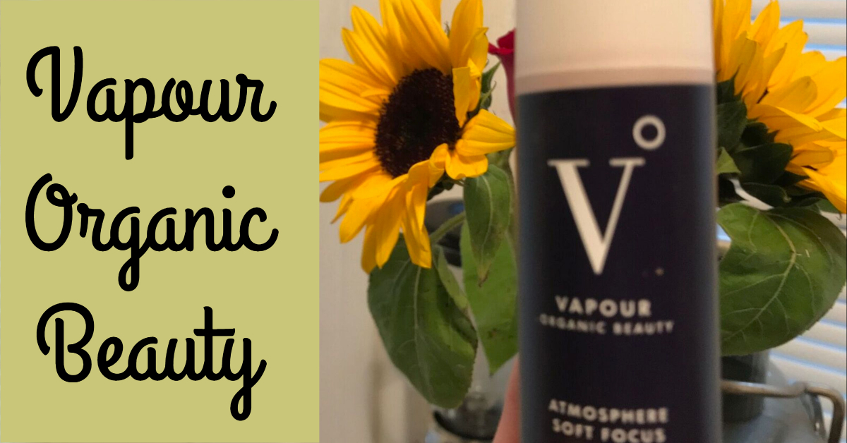 Vapour Organic Beauty review (foundation/ concealer/ highlight)