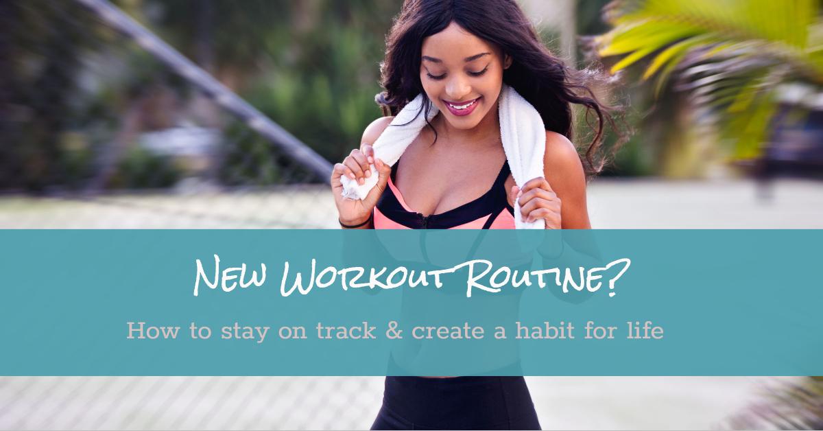 Create new exercise routine