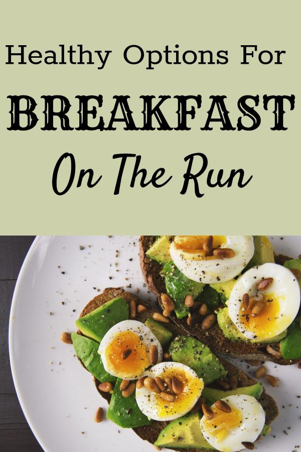 Healthy breakfast options for days when you're on the run (healthy fast breakfast/ on-the-go breakfast/ portable breakfast options/ breakfast at the office/ diet breakfast ideas/ weight loss breakfast/ healthy fast food)