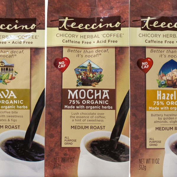 Teeccino Herbal Coffee Review (Caffeine-Free Coffee Substitute)