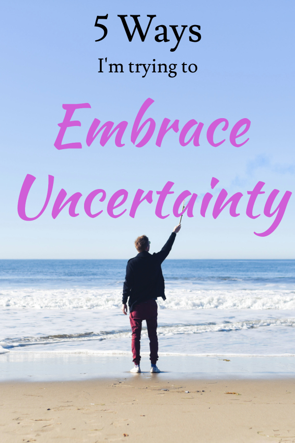 Here's how I deal with uncertainty (mind is racing/ big life lessons/ dealing with the unknown/ meaning of life/ practice mindfulness/ spiritual questions/ unknown in the universe/ fear of the unknown/ fear that won't go away/ fell panicked/ stressed all the time/ don't know why I'm stressed/ feeling out of control)