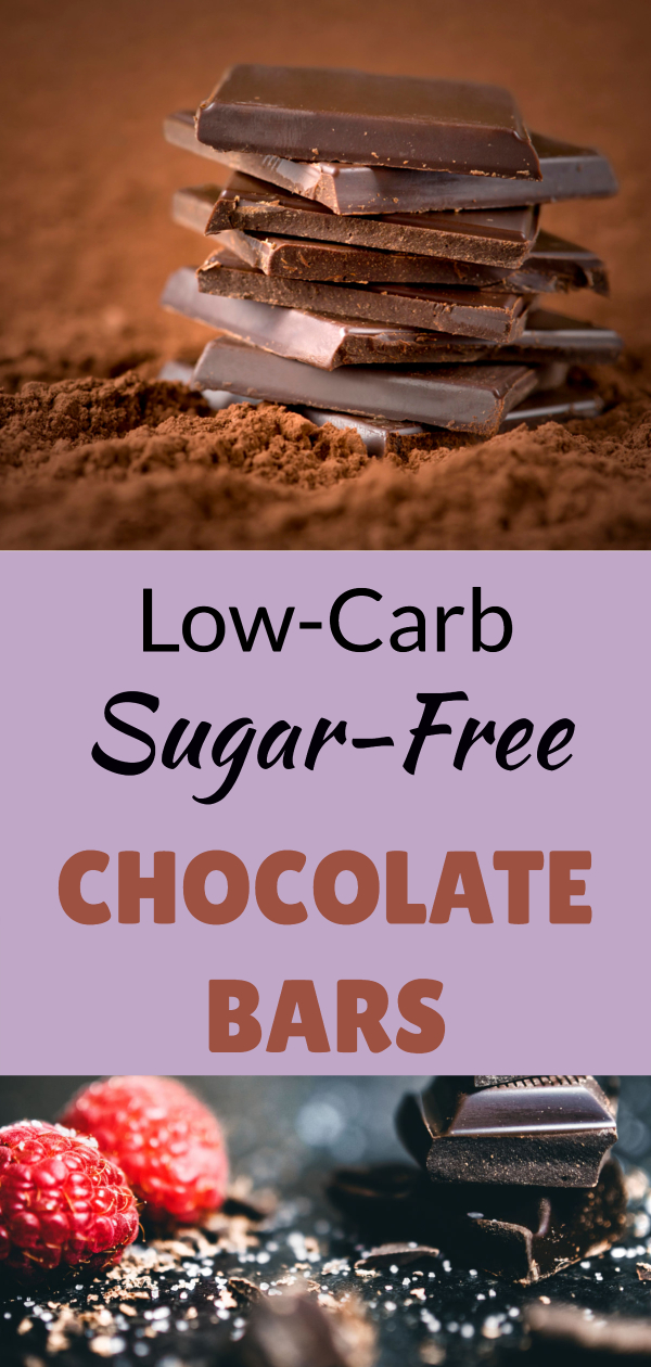 Low carb sugar-free chocolate bars (keto approved chocolate/ low-carb chocolate/ go sugar-free/ cut back on sugar/ feed sugar cravings/ sweet cravings on keto/ keto junk food/ ways to eat less sugar/ eat sweet/ don't blow diet/ low-calories chocolate/ better quality chocolate/ better than hershey's)