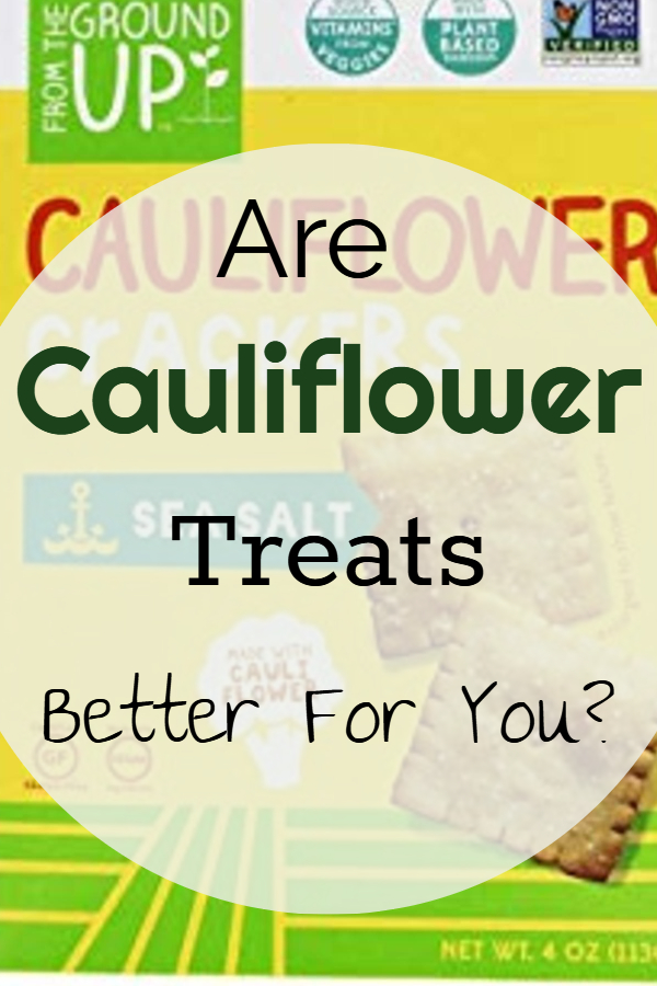Are cauliflower treats better for you? (cauliflower crackers/ cauliflower low carb/ cauliflower diet friendly/ cauliflower pizza/ cauliflower pretzels/ cauliflower pasta/ cauliflower rice/ ways to cut carbs/ eat less bread/ is cauliflower healthy/ cauliflower rice substitute/ cauliflower bread substitute/ diet trends/ diet friendly food)