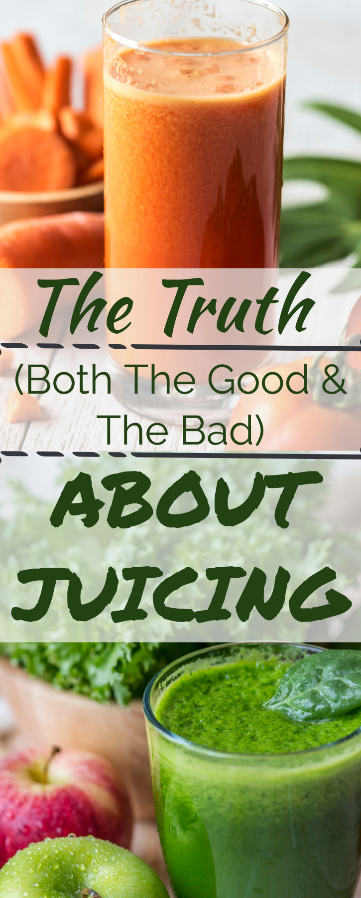 The truth about juicing (juicing benefits/ is juicing healthy/ risks of juicing. healthiest vegetable juice/ healthy juice recipe/ juice detox/ juicing program/ vegetable juice/ carrot juice/ kale juice/ beet juice/ fruit juice healthy/ sugar in juice/ calories in vegetable juice/ healthiest juices)