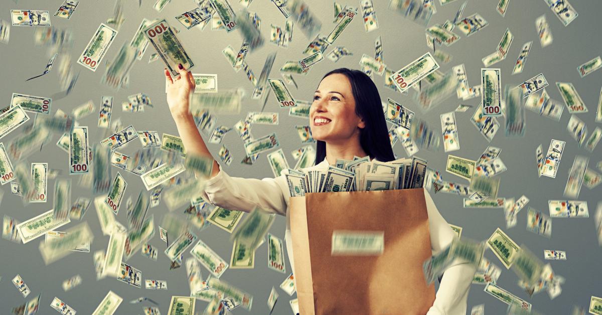 manifesting lots of money for women