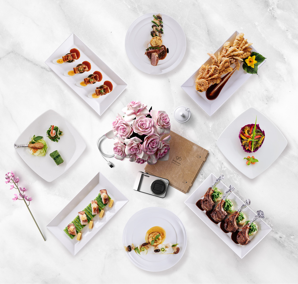 food concept photography for dining room restaurant by by xolve branding and creative