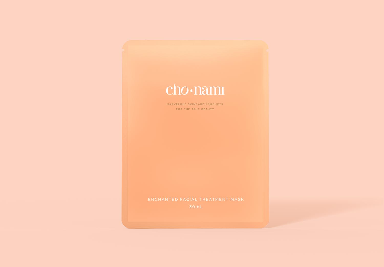 Cho Nami, Enchanted Facial Treatment Mask, Mặt nạ dưỡng trắng, xolve branding, 3D cosmetic