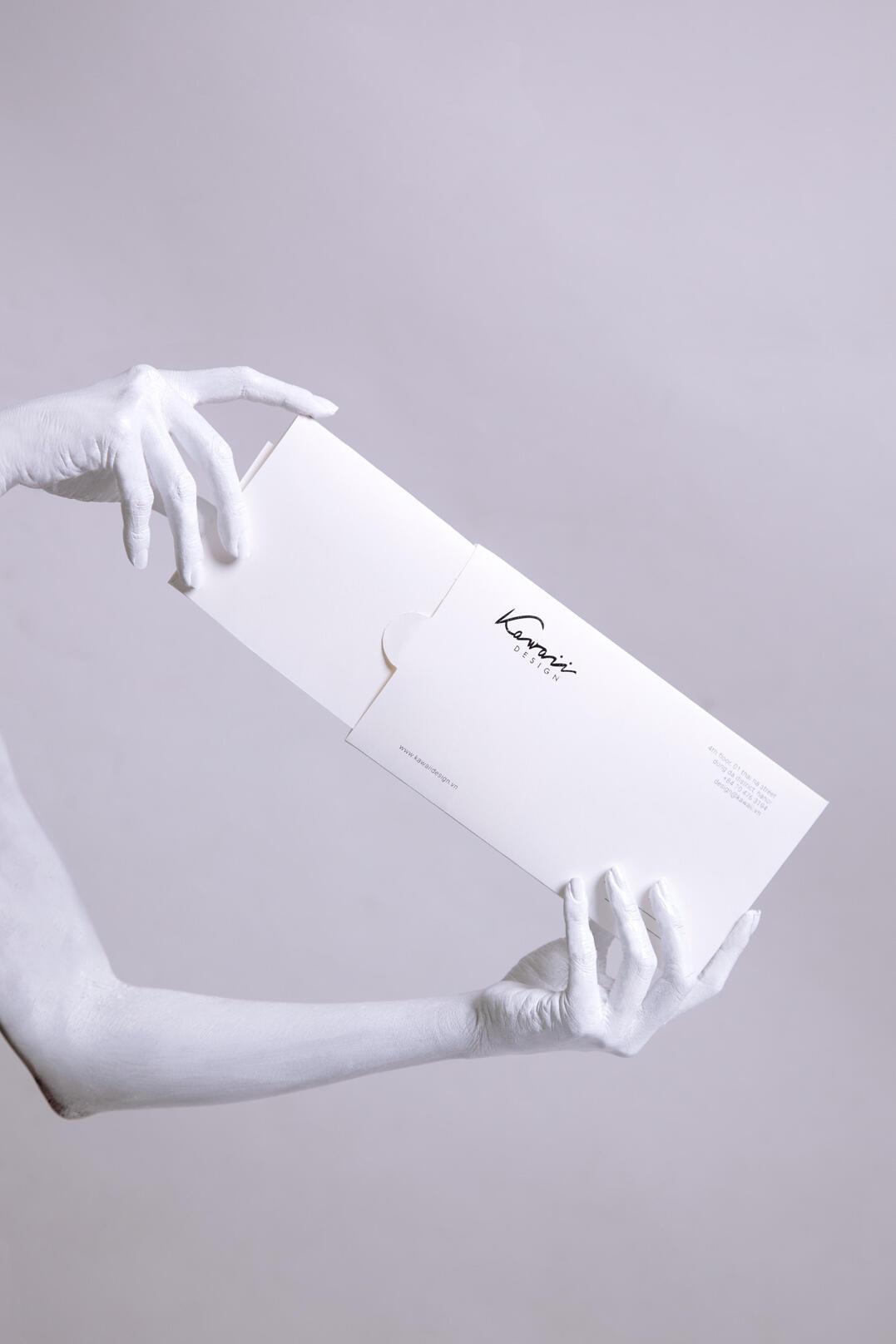 envelope design, stationary design, packaging design, fashion brand, brand agency in hcmc, xolve branding