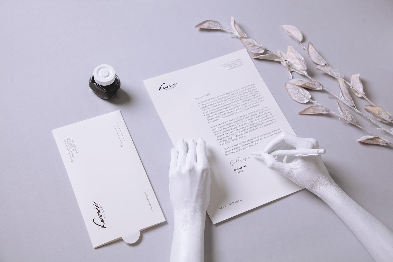 letterhead, logo design, stationary design, packaging design, fashion brand, brand agency in hcmc, xolve branding