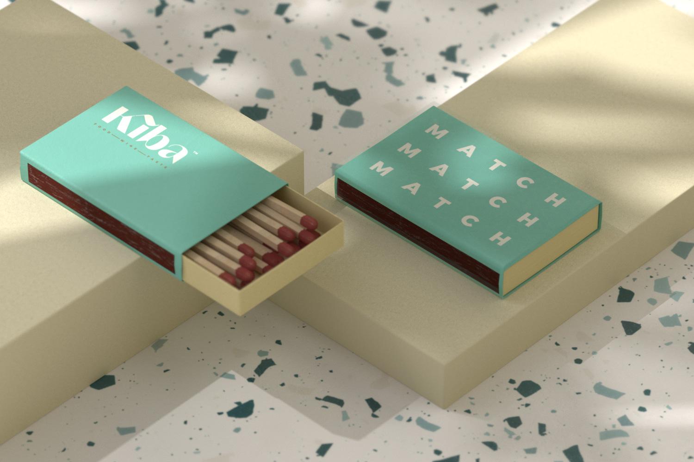 Kiba Saigon matchbox design