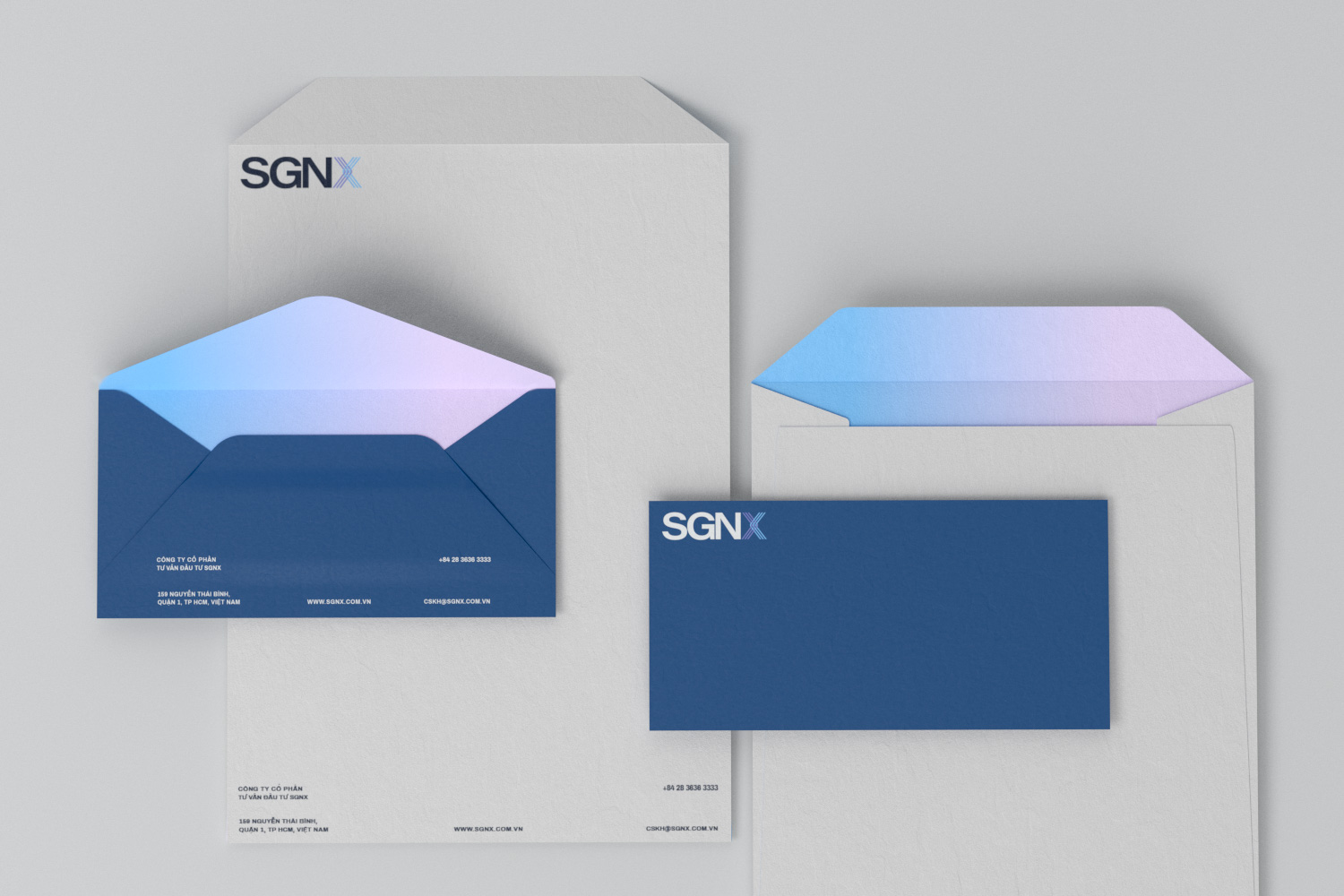 SGNX envelope set