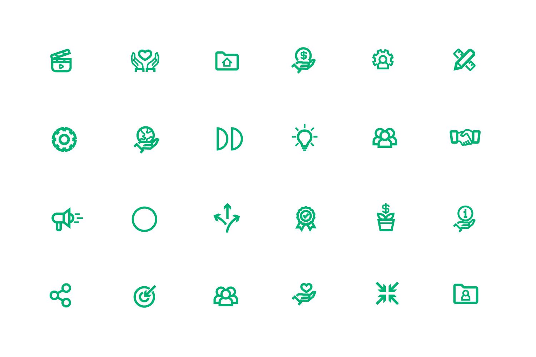 LIN icon design