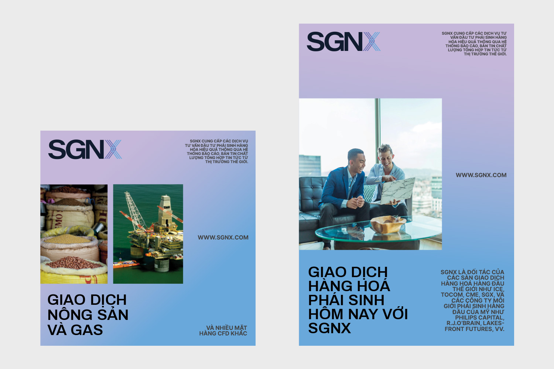 SGNX poster set