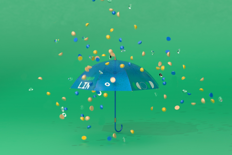 LIN open umbrella