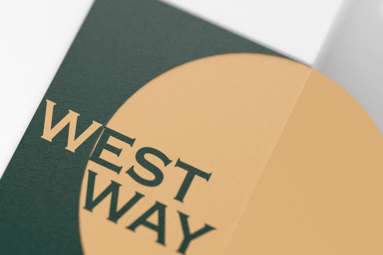 westway menu cover detail