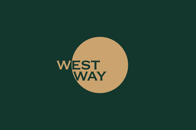 Westway logo on dark green