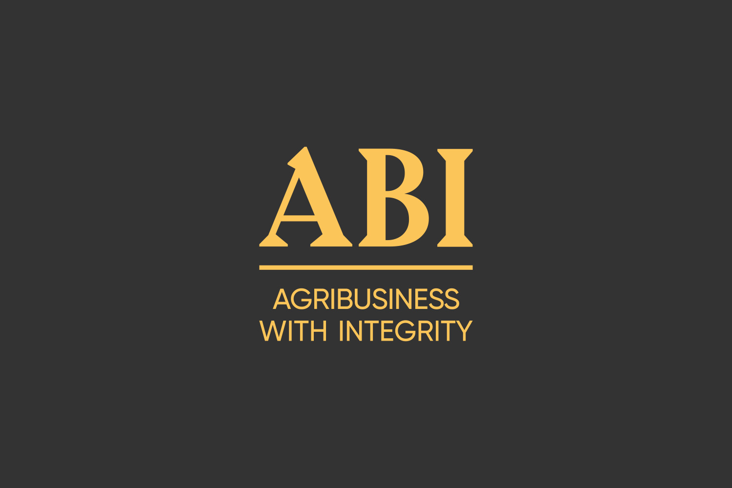 Abi now logo on black background