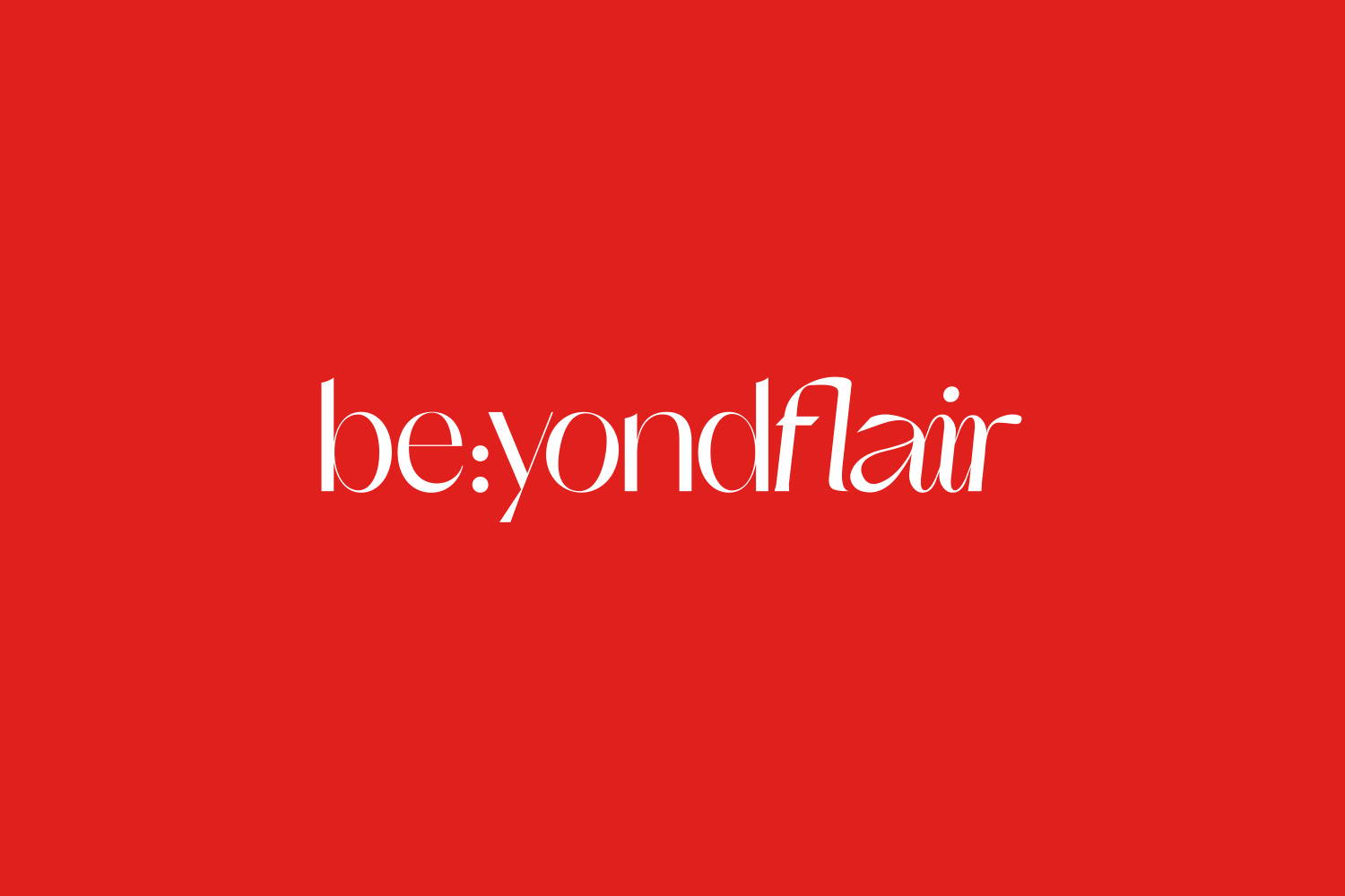 Beyondflair logo red