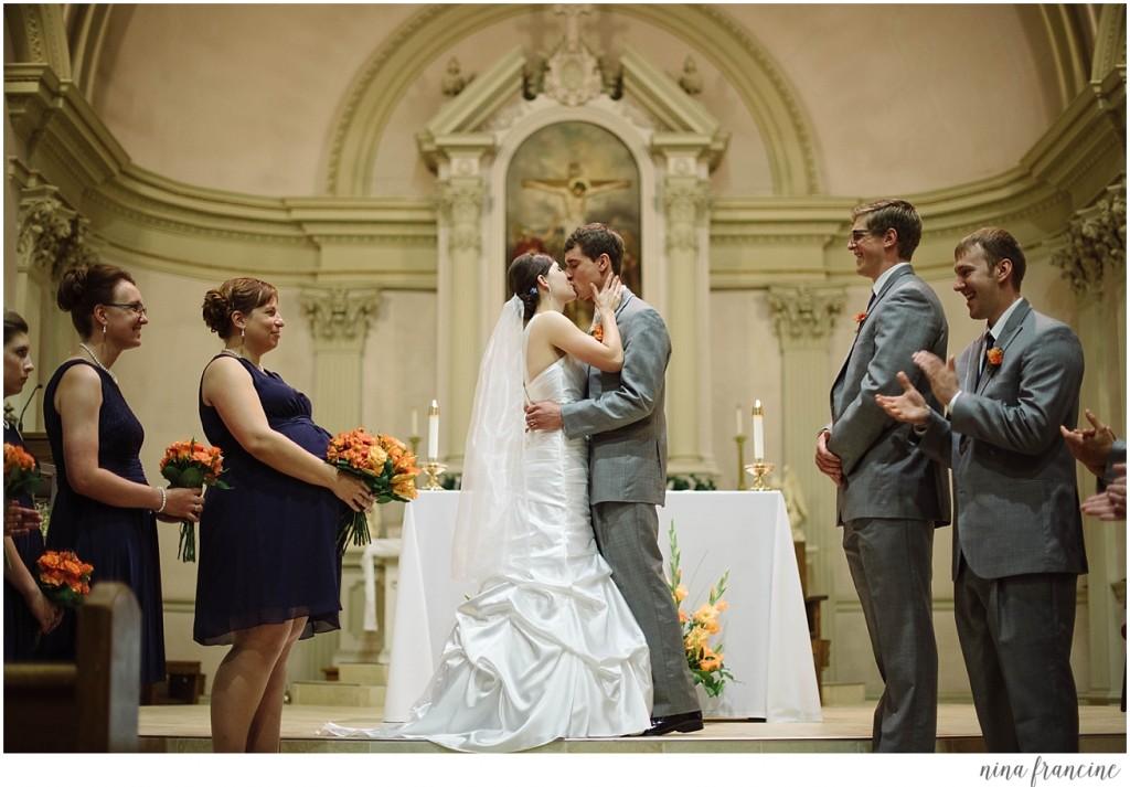 St. Francis Xavier Wedding