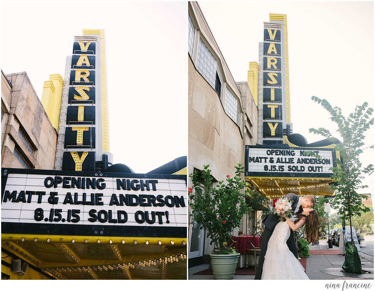 Varsity Theater Wedding