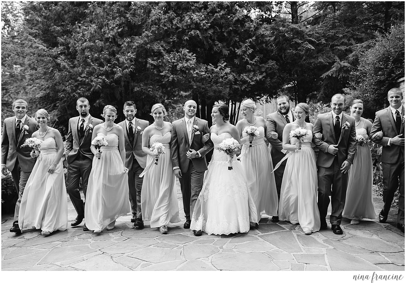 the woods chapel wedding