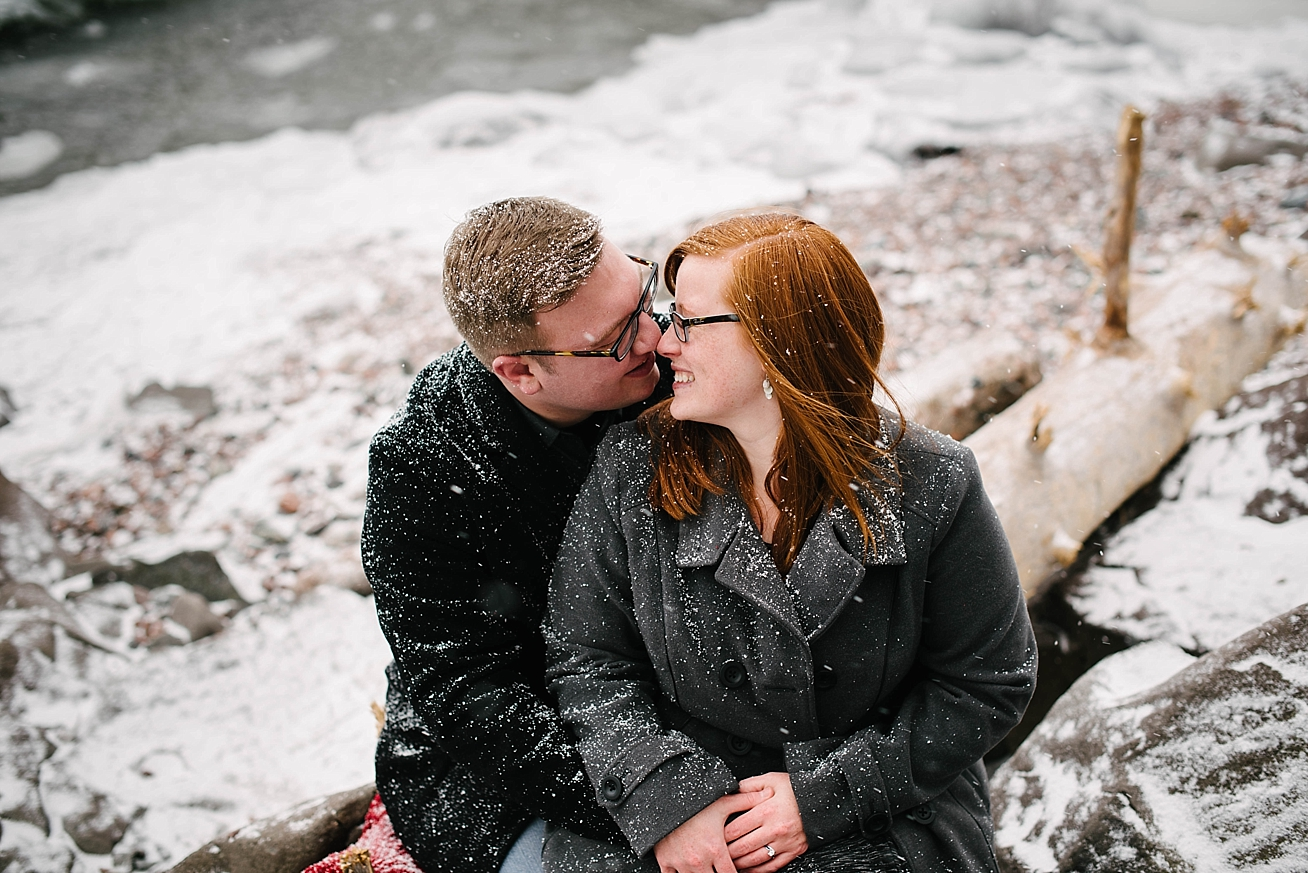 Duluth Winter Engagement Session