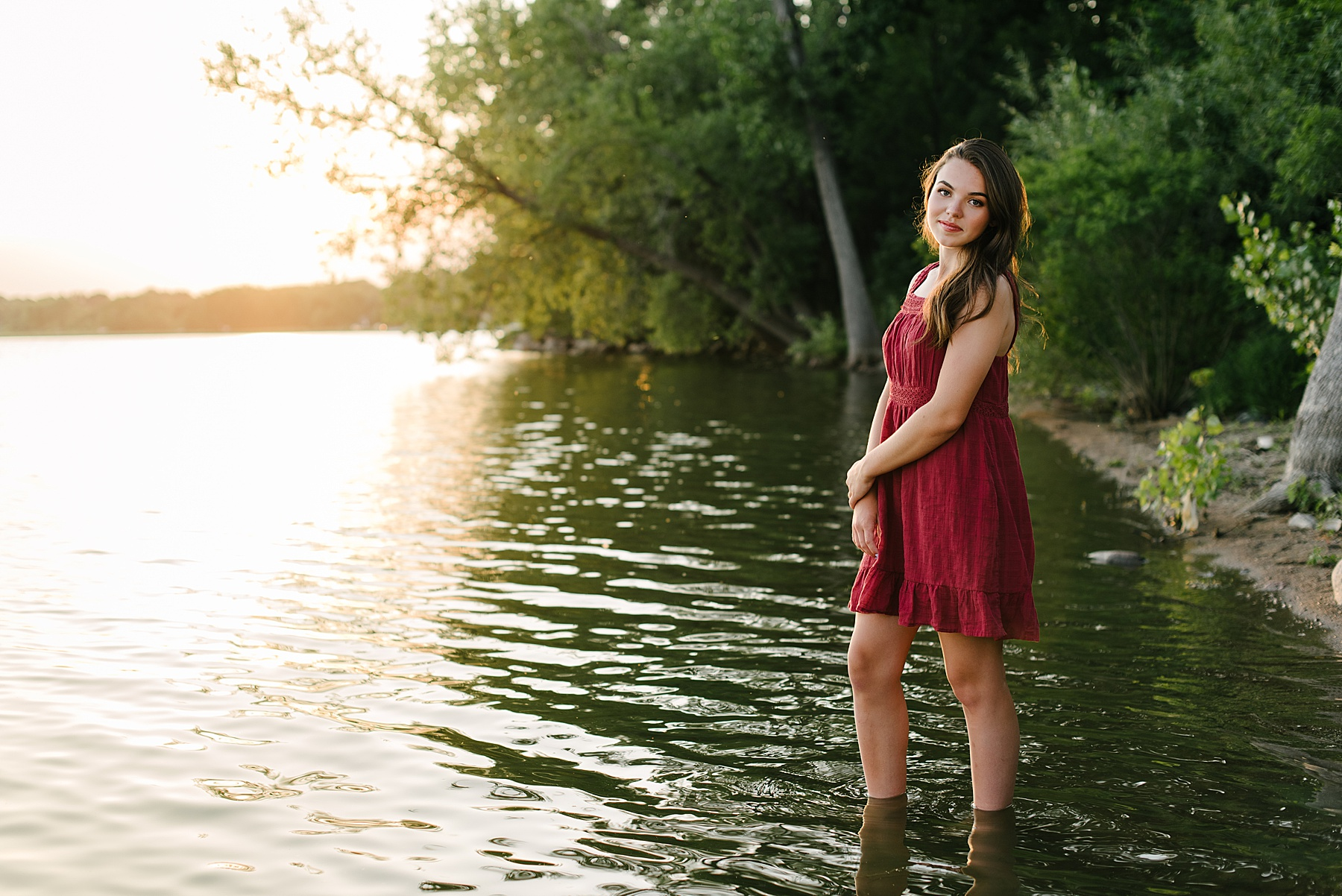 lake senior photos mn