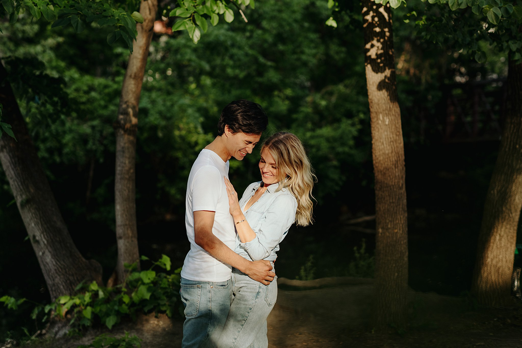 maple grove mn engagement session