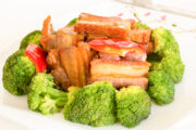 Sauteed Crispy Pork with Broccoli (DEL-1066 )