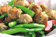 Stir Fried Fish Ball with Choy Sum (A8)
