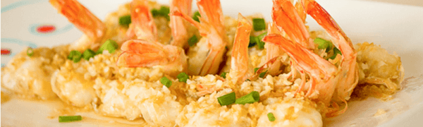 Steamed Garlic Prawns – Dish of the day! Saturday June 27, 2015