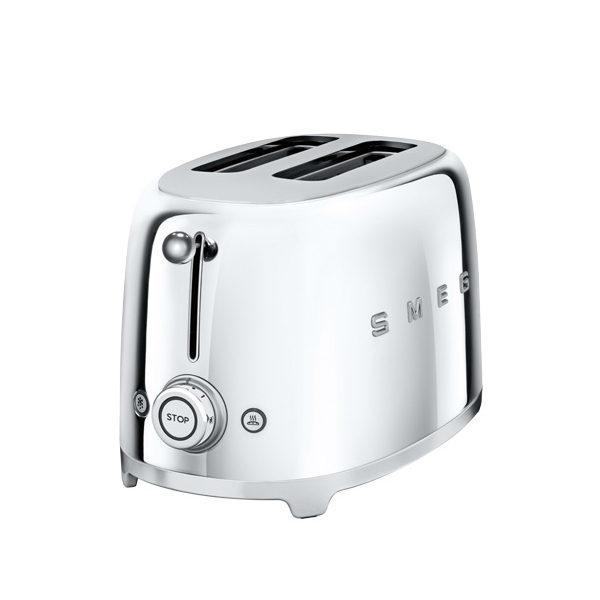 Chrome Smeg 2 Slice Toaster