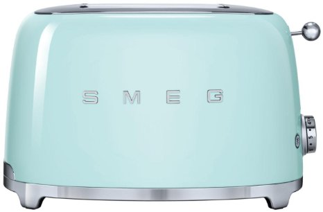 Pastel Green Smeg 2 Slice Toaster