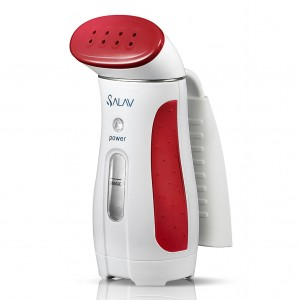 Red SALAV Travel Hand Held Garment Steamer