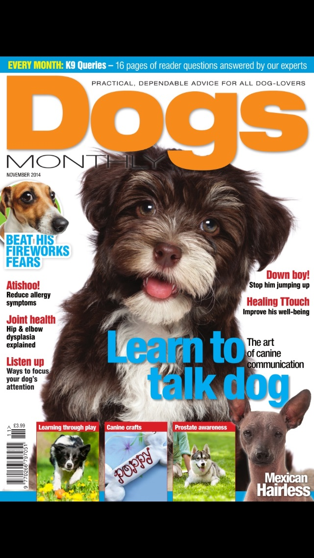 Dogs monthly magazine james Reavil